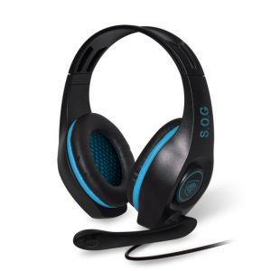 Spirit of Gamer - Pro-SH5 Playstation 4 Gaming Headset - Blauw