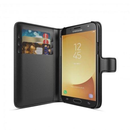 BeHello Samsung Galaxy J7 2017 Wallet Case Black