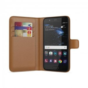 BeHello Huawei P10 Wallet Case Brown