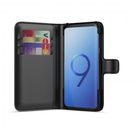 BeHello Wallet Case Zwart voor Samsung Galaxy S9+