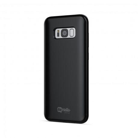 BeHello Gel Back Case Zwart voor Samsung Galaxy S8+