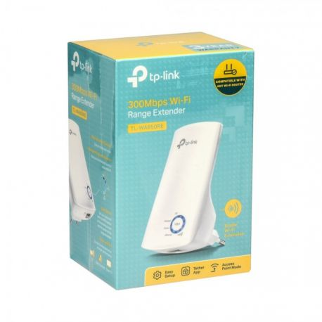 TP-LINK TL-WA850RE 300 Mbps Wireless N Range Extender - Wit