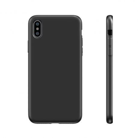 BeHello Liquid Silicon Case Zwart voor iPhone X | Xs