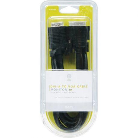 ICIDU DVI-A to VGA Monitor Cable, 2m