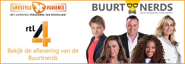 Buurtnerds bij LifestyleXperience op RTL4